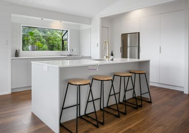 Bright and white renovation
